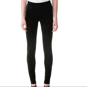 🥳MICHAEL KORS🥳 Black Velvet Leggings